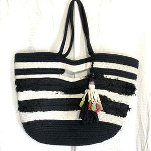 STELLA & DOT Anthropologie Beach TAJ Tote Bag
